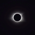 total solar eclipse small